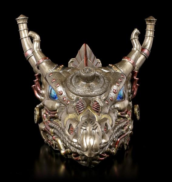 Dragon Head Box - Steampunk Dracus Vault