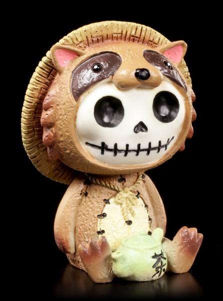 Furry Bones Figurine - Tanuki