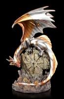 Steampunk Dragon Figurine - Mechanic Wings