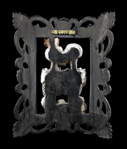 Wandbild Skelett - Liebespaar Portrait