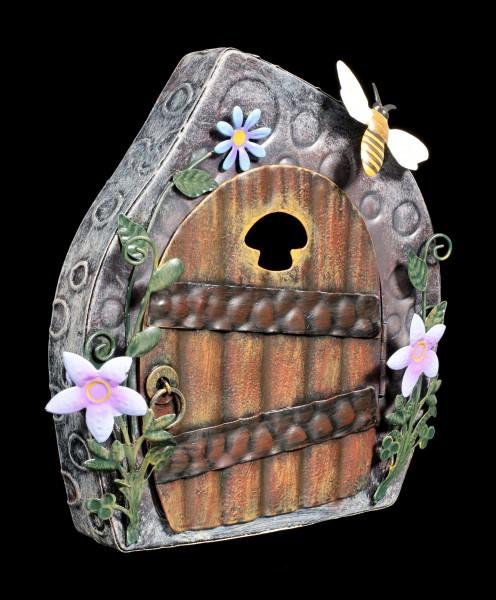Fairy Metal Door - Beekeepers Cottage