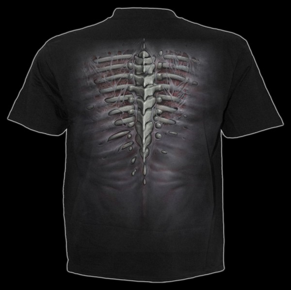 Spiral Gothic T-Shirt - Ripped