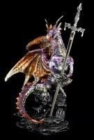 Letter Opener Dragon Figurine - Niir - colored