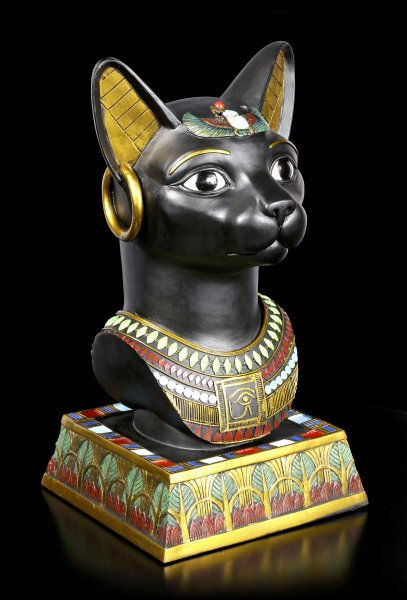 Altägyptische Büste - Bastet
