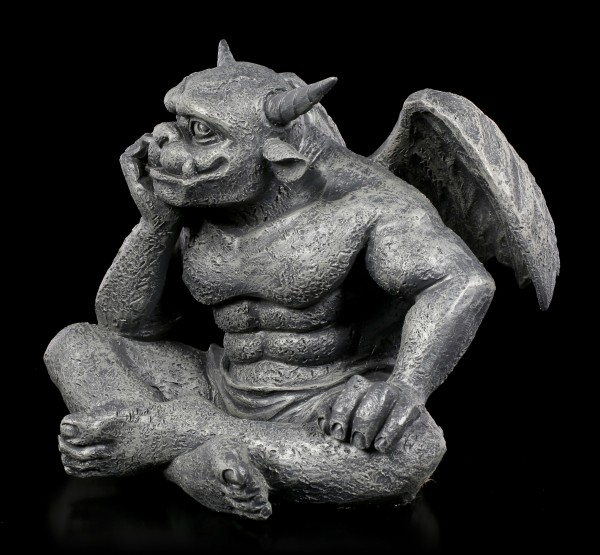 Gargoyle Figurine - Waiting for the Infinity
