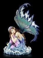 Fairy Figurine - Melissa sleeps with the Crystals