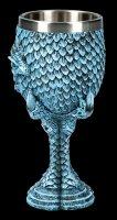 Dragon Goblet - Blue Claw
