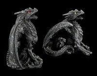 Drachen Figuren 2er Set - Dark Fury