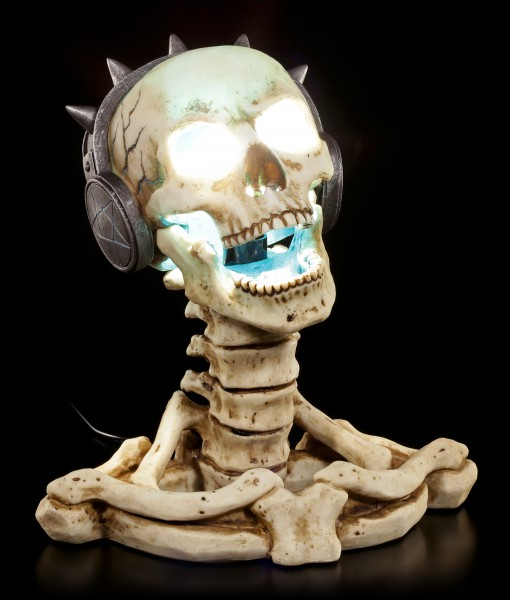 Skelett Tischlampe - Play it Loud