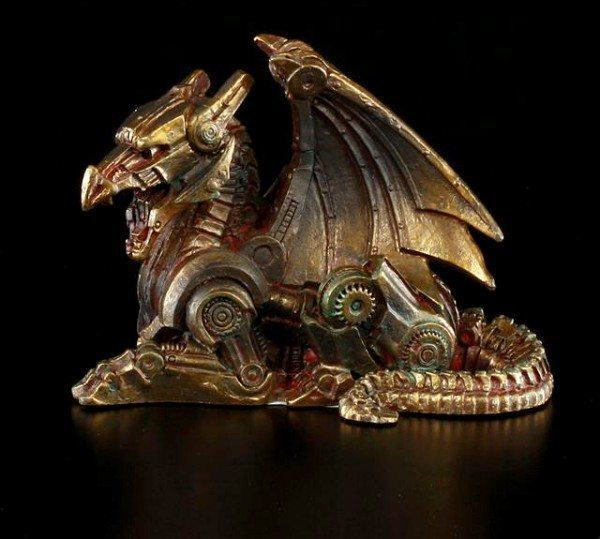 Steampunk Dragon Figurine