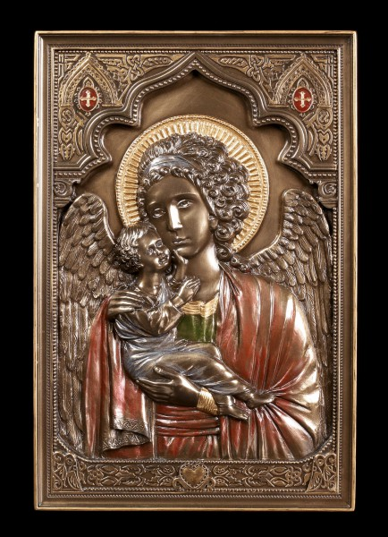 Wall Plaque Icon - Guardian Angel