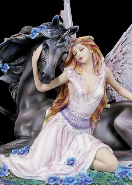Fairy Figurine - Elanor with Unicorn