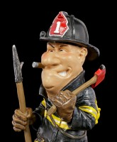Funny Job Figurine - Fire Fighter