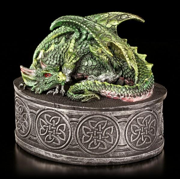 Drachen Schatulle - Emerald grün