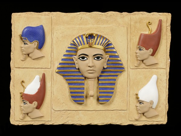 Wall Plaque - Pharao Crowns