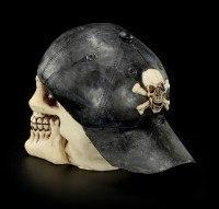Skull - Cap pointing backwards