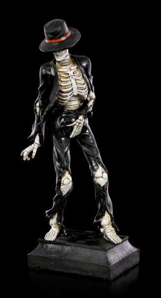 Skeleton Figurine - Dancer in black Suit