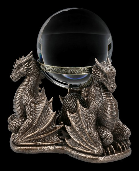 Crystal Ball Holder - Dragons Prophecy