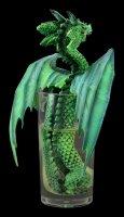 Dragon Figurine - Mojito by Stanley Morrison