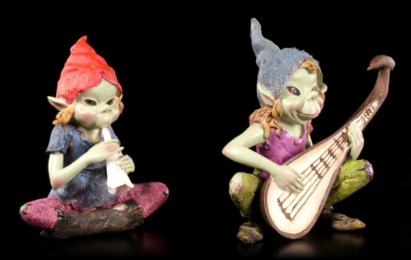 Pixie Figuren - Musiker - 2er Set