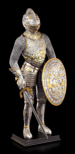 Ritter Figur in Prachtrüstung mit Schwert