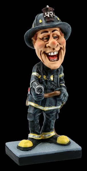 Funny Job Figurine - Fire Fighter No 49