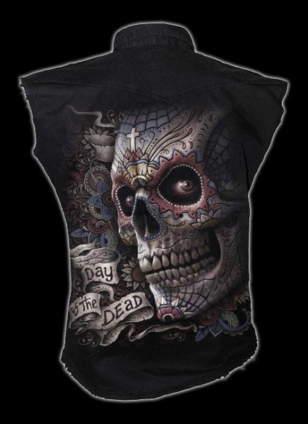 Ärmelloses Worker Shirt - El Muerto