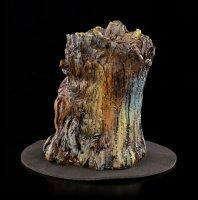 Backflow Incense Cone Holder - Aged Oak