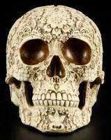 Totenkopf - Flower Skull