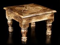Tisch Altar - Pentagramm