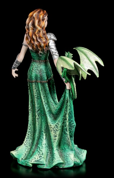 Witch Figurine with Dragon - Astranaithes by Nene Thomas