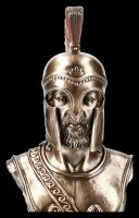 Spartaner Büste in Hoplitenrüstung