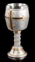 Knights Goblet - Crusader Helmet