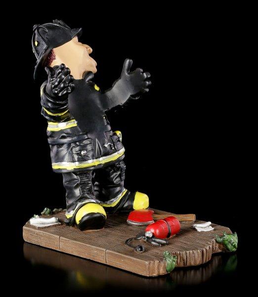 Funny Job Flaschenhalter - Feuerwehrmann