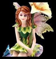Fairy Figurine - Fani sitting on Mushroom