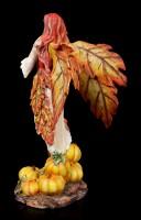 Herbst Elfen Figur - Sonya mit Kürbissen