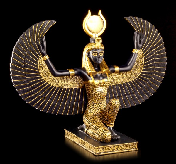 Große Isis Figur