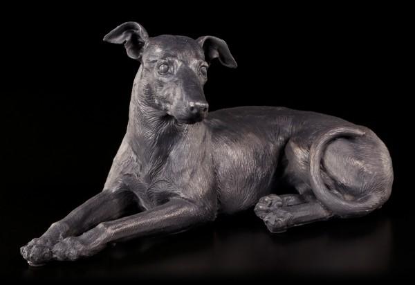 Hunde Figur - Greyhound liegend