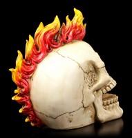 Skull - Flaming Punk