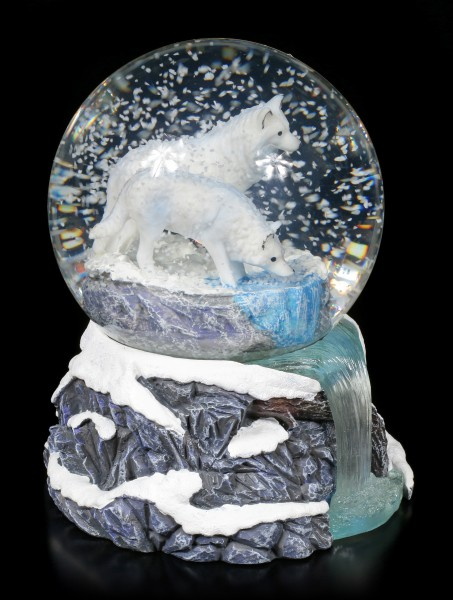 Snowglobe with Wolves - Warriors of Winter