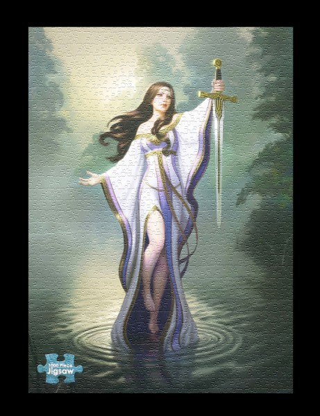 Fantasy Puzzle - Lady of the Lake