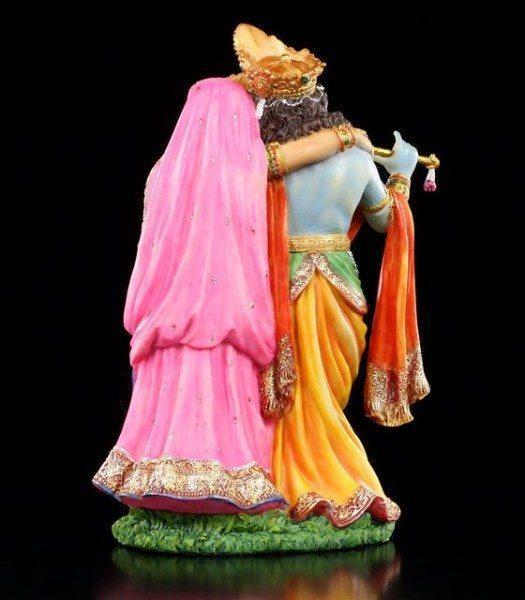 Hindu Götter Figuren - Krishna und Radha
