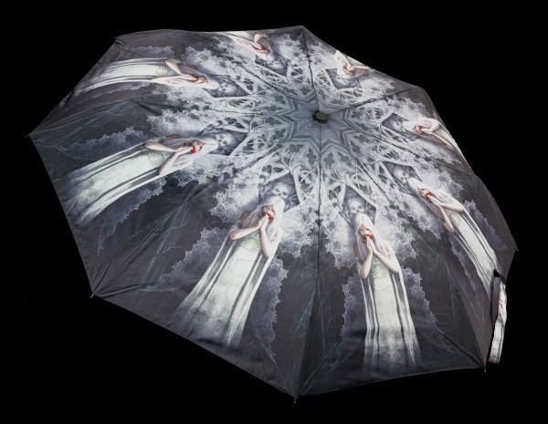 Umbrella with Gothic Fairy - Only Love Remains