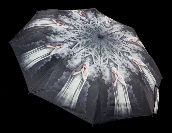 Regenschirm mit Gothic Elfe - Only Love Remains
