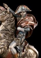 Napoleon Bonaparte Figur mit Pferd - groß
