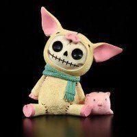 Furry Bones Figur - Bacon