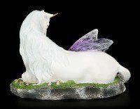 Fairy Figurine - Euone sleeps with Unicorn