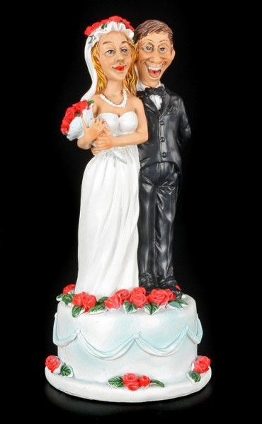 Wedding Cake - Funny Wedding Figurine