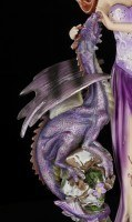 Fairy Figurine - Melissa with Dragon