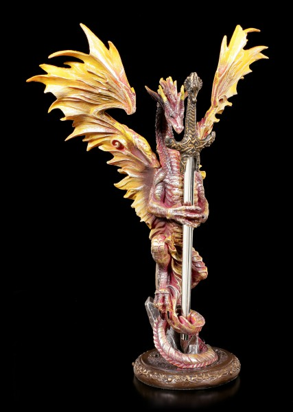 Letter Opener Dragon - Flame Blade